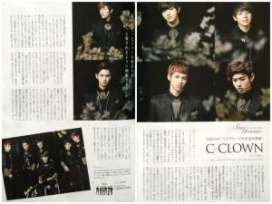 C-CLOWN for HaruHana Magazine2